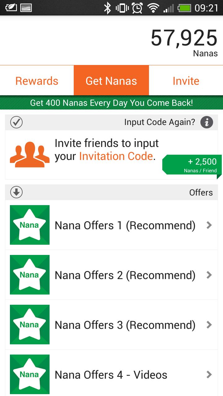 How to gain dozens of appnana referrals earn free gift cards by how to gain dozens of appnana referrals earn free gift cards by downloading apps nlstart stopboris Gallery